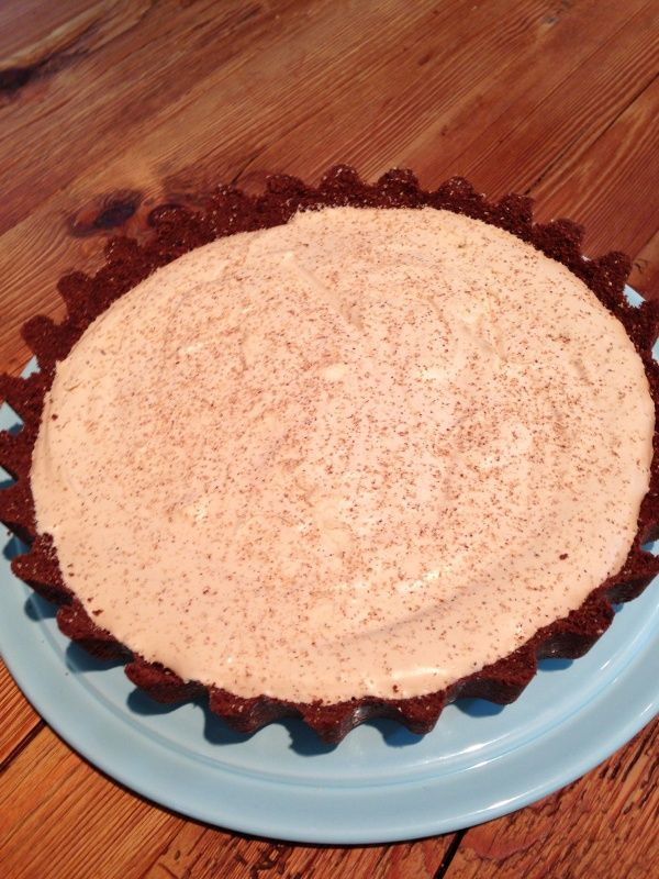 My Brandy Alexander Pie | Nigella's Recipes | Nigella Lawson