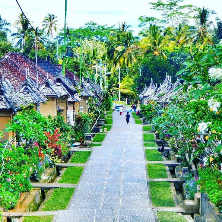 Learning the culture in Panglipuran village, Bali, Indonesia  Photo by: IG @bruryajja