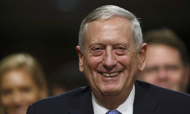 Senate committee green-lights Mattis for defense secretary