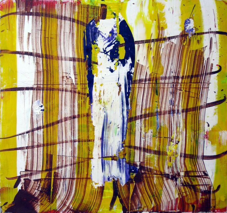 "Saatchi Art Artist: robert tavani; Acrylic 2012 Painting ""UH OH"""