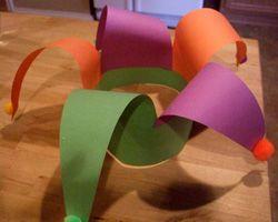 Mardi Gras Craft - Jester Hat  @Stacy Stone Massey
