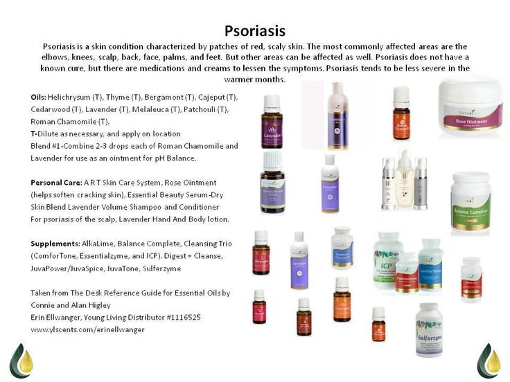 Young Living Essential Oils -Psoriasis