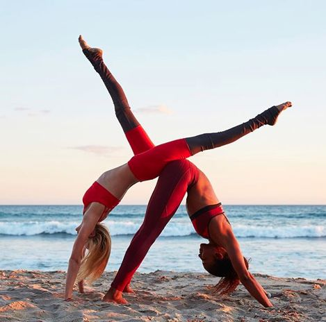 266 best images about partner/couples yoga poses on