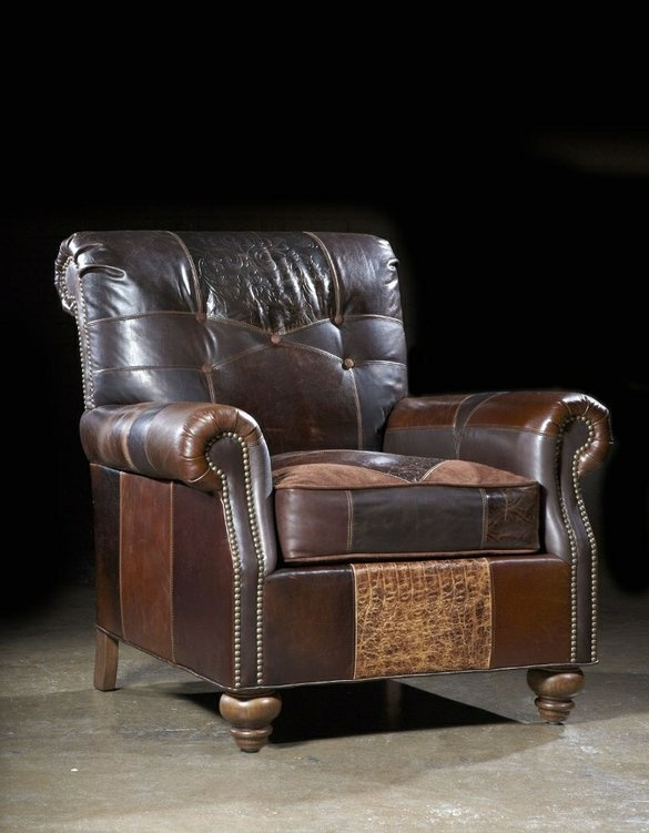 Western Furniture Custom Living Room, Family Room Furniture by Bernadette Livingston Furniture, LLC