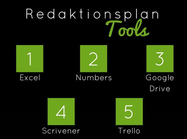 redaktionsplan tools