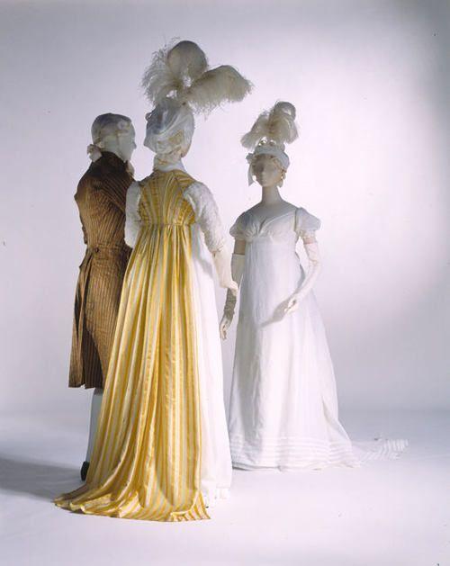 1800s dresses via The Costume Institute of the Metropolitan Museum of Art