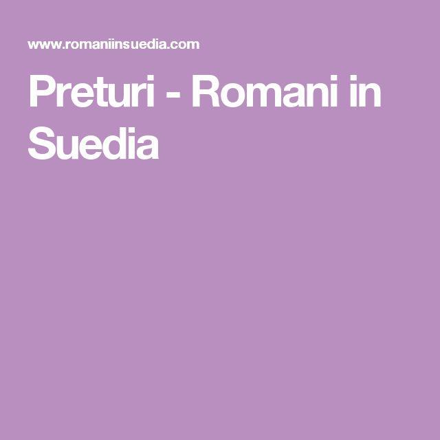 Preturi - Romani in Suedia