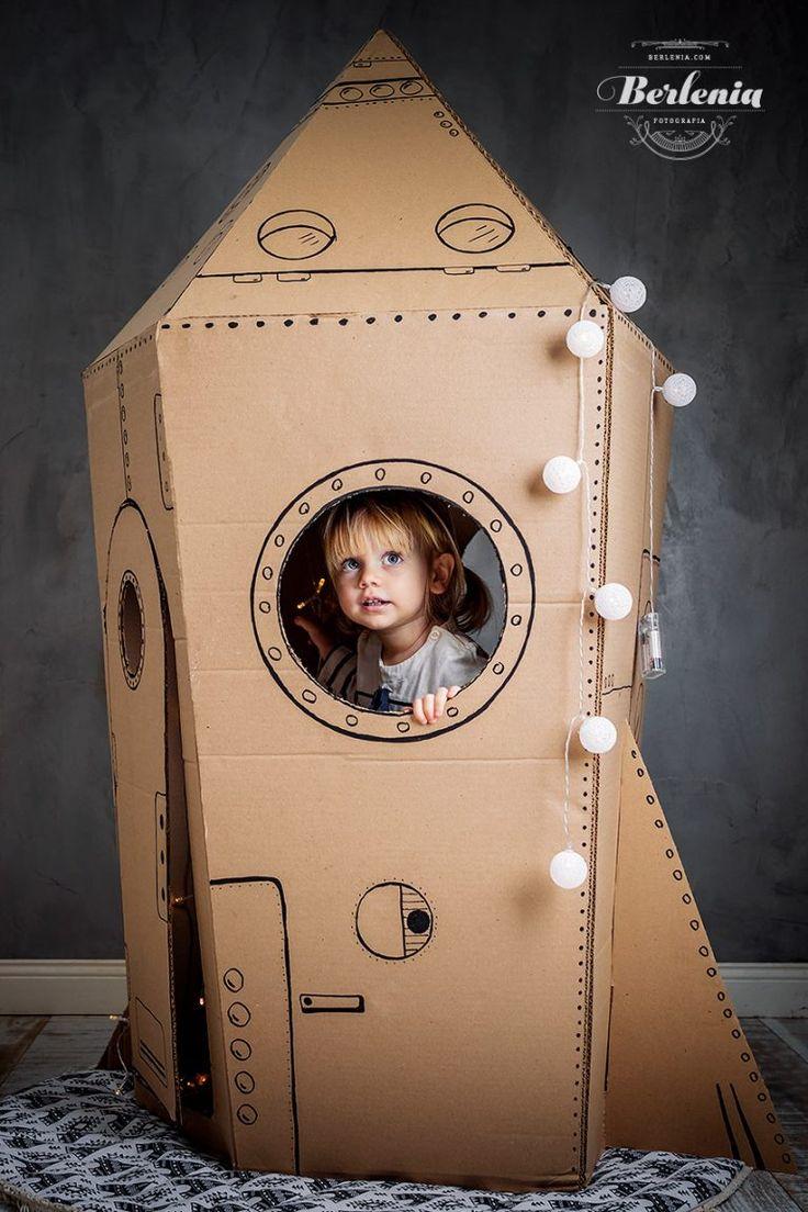 Cheap Home Decor Boys bedroom Home Decor Boys bedroom Cardboard Crafts Kids, Cardboard Rocket, Cheap Beach Decor, Cheap Home Decor, Home Decor Signs, Home Decor Items, Carton Diy, Diy Rocket, Rustic Home Interiors