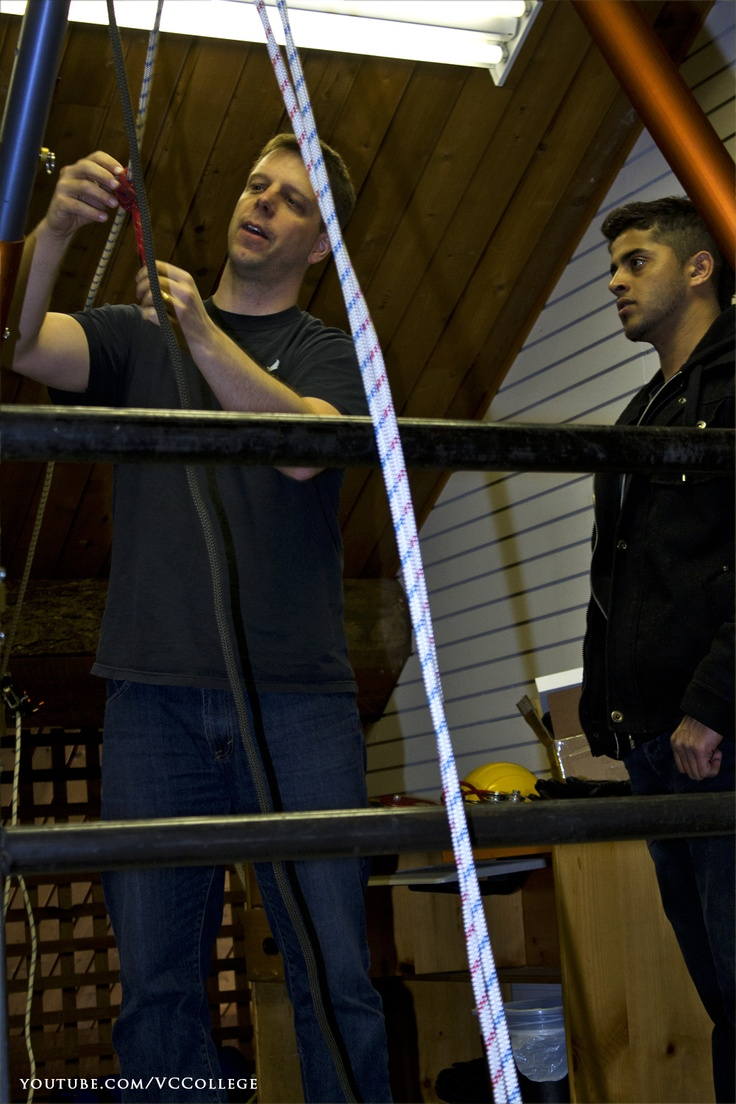 The demand for qualified electricians continues to grow. Vancouver Career College's Construction Electrician Foundation program prepares students to enter an electrical apprenticeship with the skills and knowledge they need to succeed.  Subscribe to Vancouver Career College: http://youtube.com/subscription_center?add_user=VCCollege  #Construction #Electrician #Foundation #Program #Students #Classroom #Burnaby #BC #Canada #rigging #rigs #climbing #rescue