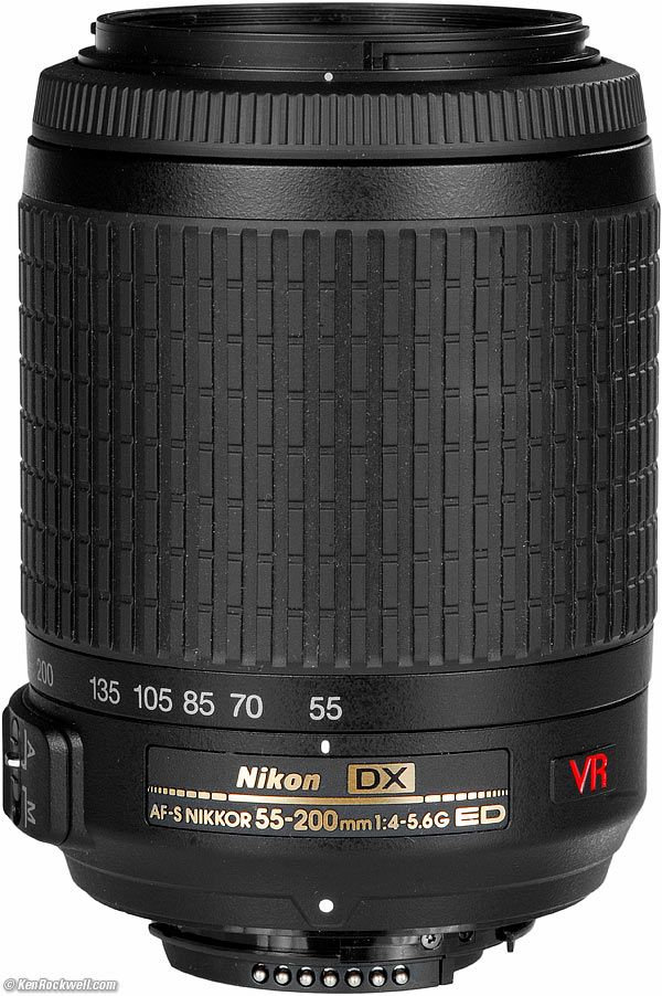 Nikon 55-200mm VR, one of the three dream team lens.