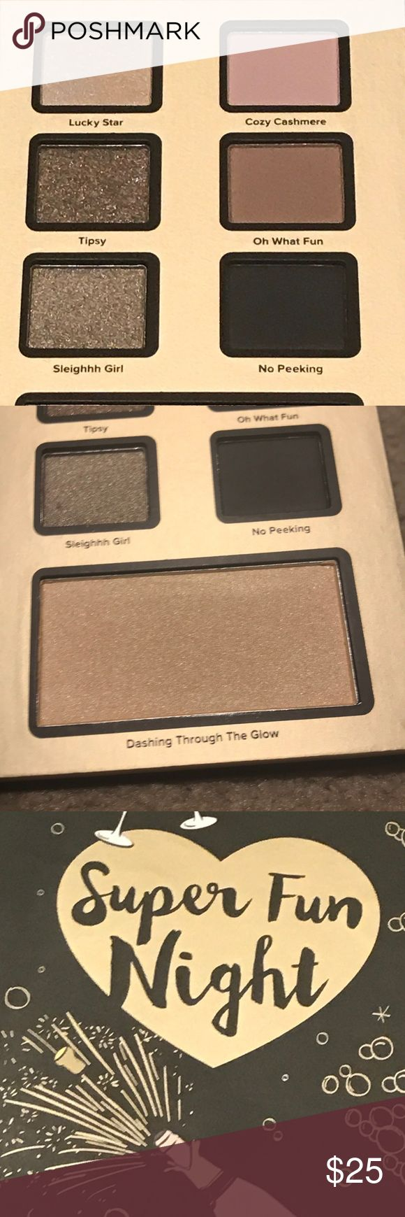 "Brand new too faced eyeshadow palate ""Super Fun Night"" palate  New and unsealed Too Faced Makeup Eyeshadow"
