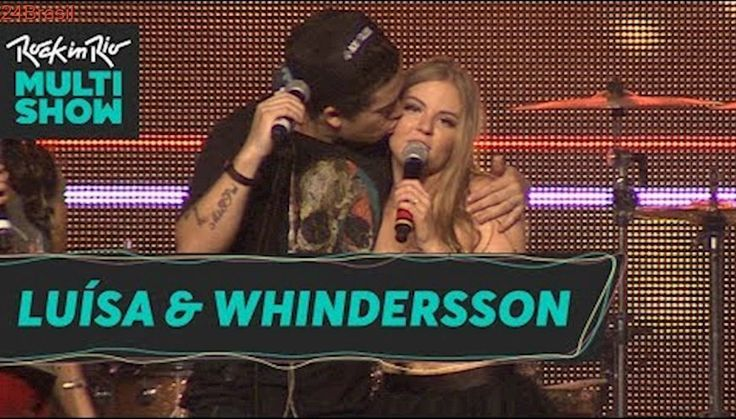 Rock in Rio   Whindersson Nunes e Luísa Sonza no Digital Stage   Dia 2