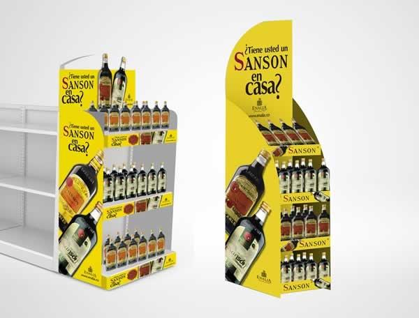 Cliente: Enalia Producto: Sansón Referencia: ¿Tiene usted un Sansón en Casa? Aplicación: Material de Merchandising y Visibility Fecha: 2012