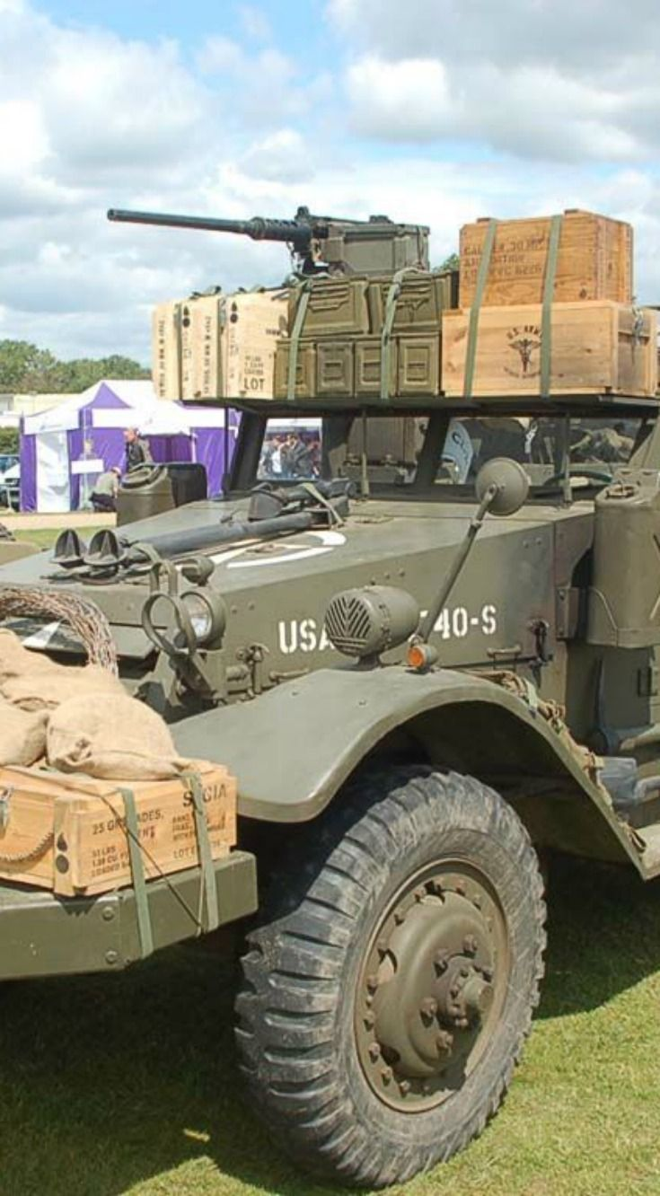 In honor of veterans day here are some seriously tough military vehicles that were built