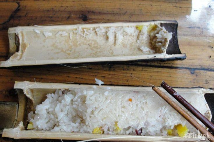 Bamboo rice, Dragon's Backbone Rice Terrraces, China