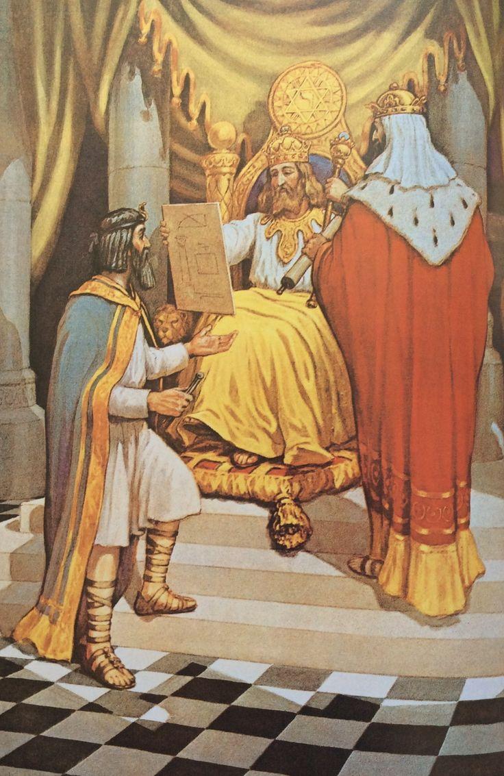 "The Three Grand Masters ""Triple Deity"" of the Lodge of Jerusalem"