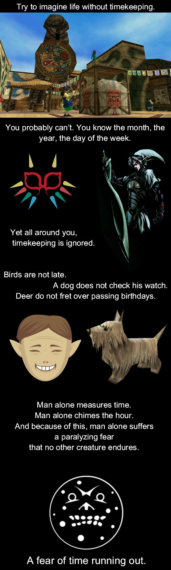 #LegendofZelda #MajorasMask Quote via reddit user  Onlyhereforthelaughs