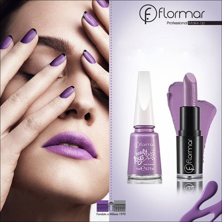 Productos usados en éste Look: Esmalte L24496 Pony Tail (Beauty Toys) y L10791 Deep Lilac (Long wearing Lipstick)