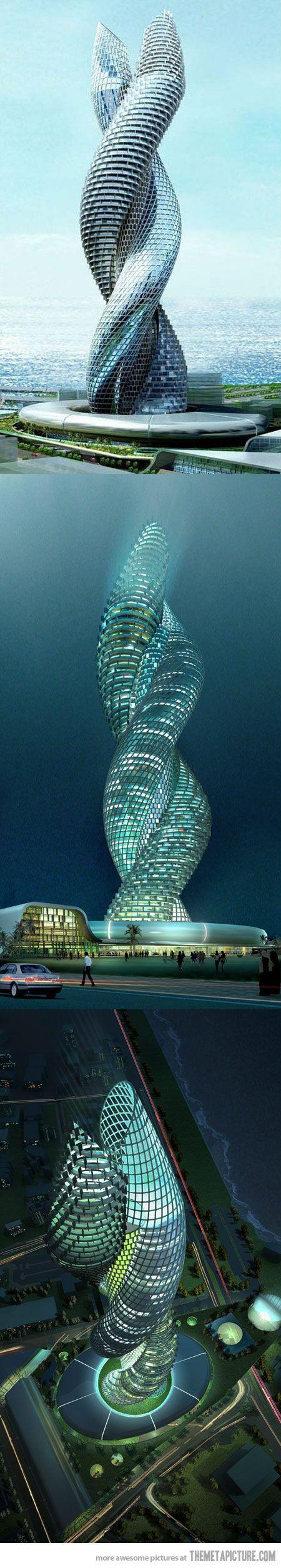 Kuwait - Cobra Tower  #monogramsvacation