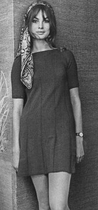 Jean Shrimpton photographed by Dave Buresh 1968 (Thanks to Jane Davis)