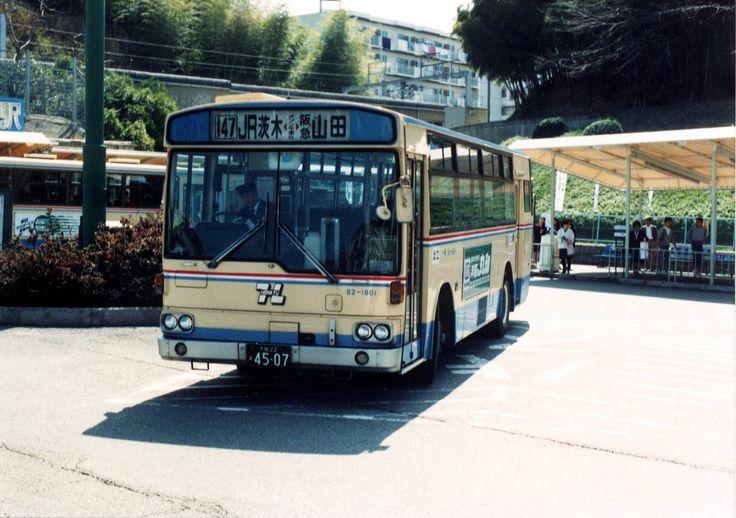 HANKYU_BUS  82-1801 MITSUBISHI_FUSO K-MP118K/KUREHA_BODY