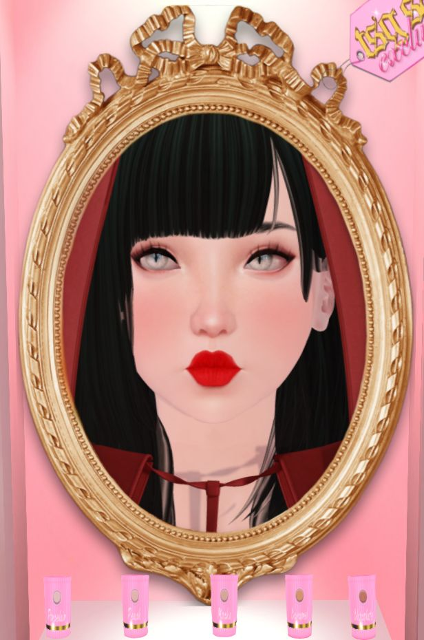 (Enfer Sombre*) Yui/Tsu/Mizu/Dakota/Aya Skin - Porcelain- Yukiko Each tone $105L Visit Enfer Sombre @ .tsg. Mall http://maps.secondlife.com/secondlife/The%20Emporium/154/183/490