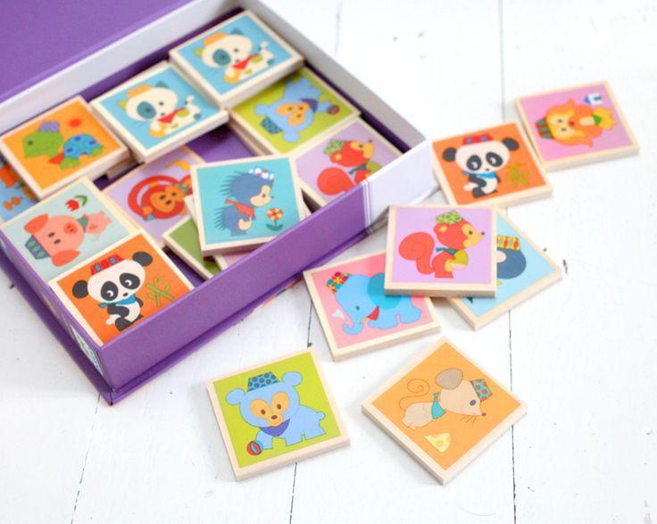 Memo et autres jolis jouets chez Adeline Klam