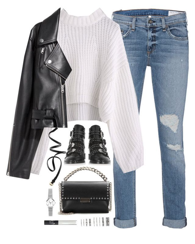 Sem título #5002 by fashionnfacts on Polyvore featuring polyvore, moda, style, SKINN, rag & bone, Givenchy, STELLA McCARTNEY, Forever 21, H&M, NARS Cosmetics, fashion and clothing