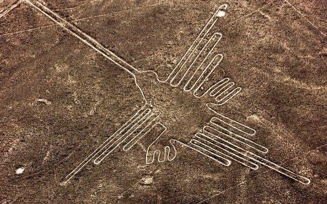 As enigmáticas linhas de Nazca no Peru
