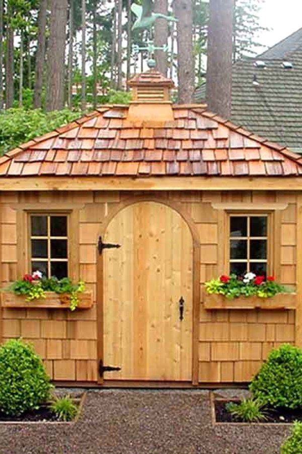 10 Awesome Potting Shed repurposed designs for your landscaping - Potting Shed Designs