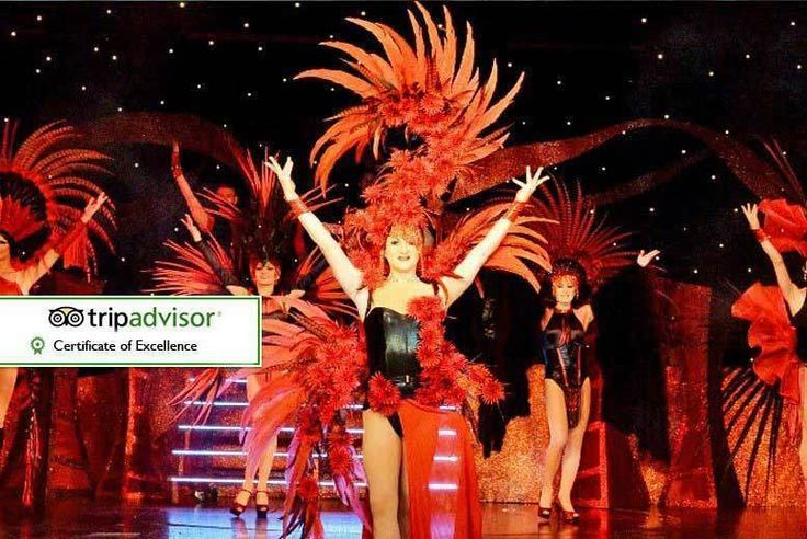 Discount VIP Funny Girls Tickets, Booth, 2-Course Dining & Bubbly for 2 for just £32.95 Join the Funny Girls for a night of unforgettable entertainment.   Show is winner of a TripAdvisor Certificate of Excellence, rated 4.5 out of 5.  Includes two-course meal from their menu and a delicious glass of bubbly each.  See burlesque routines, male dancers, drag performers and more.  Held Sun and...