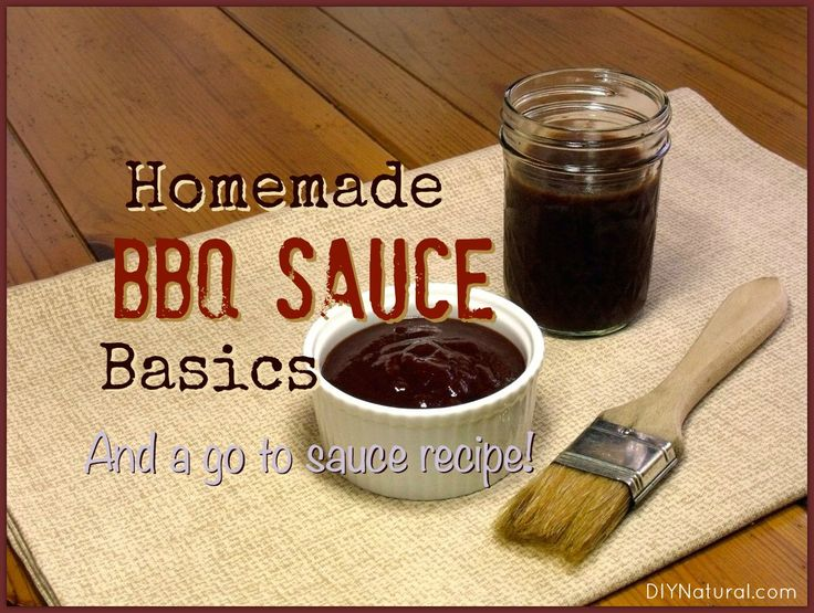 how to make basic bbq sauce
