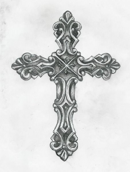 1000 Tattoo: Beautiful Cross Tattoo Designs Picture