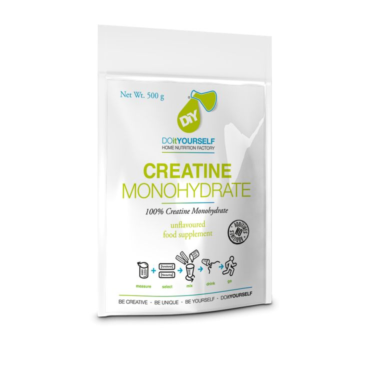 DiY Nutrition 100% Creatine Monohydrat Pulver 500g