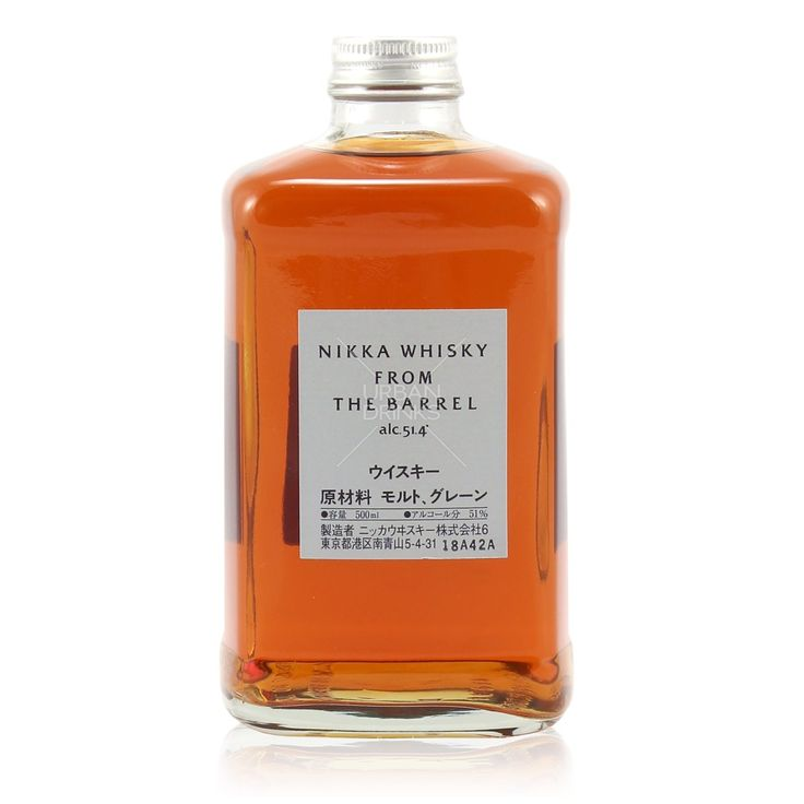 Nikka Whisky From The Barrel 0,5L (51,4% Vol.) - Nikka - Whisky