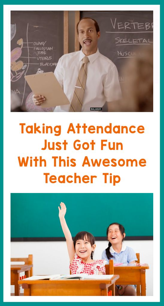 Taking Attendance Just Got Fun With This Awesome Teacher Tip – Bored Teachers