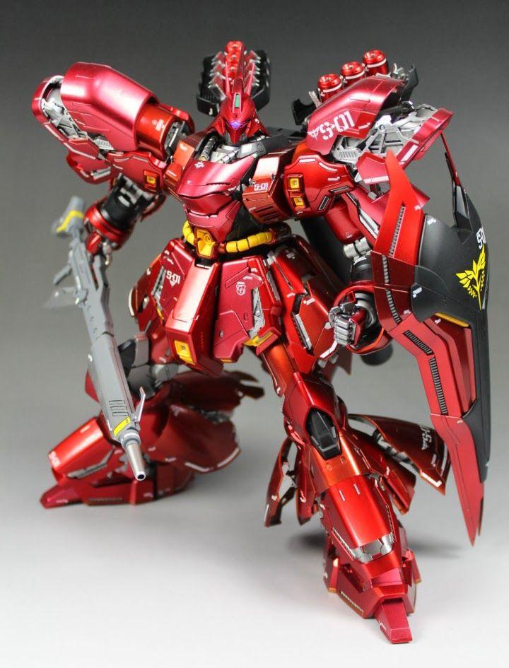 This is a review on the MG Sazabi Ver.Ka Gundam 1/100 model!