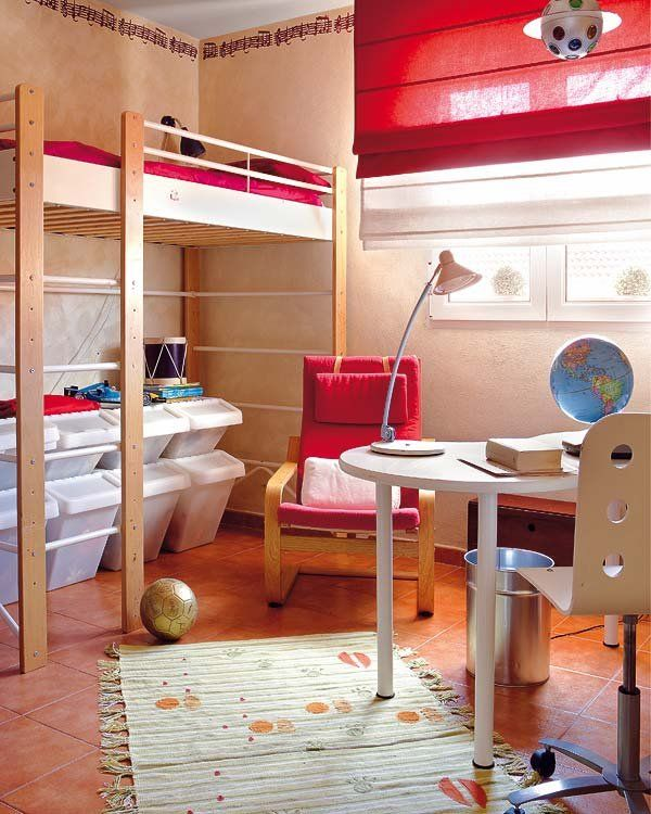 Las 25 mejores ideas sobre cama alta infantil en for Como decorar un cuarto infantil
