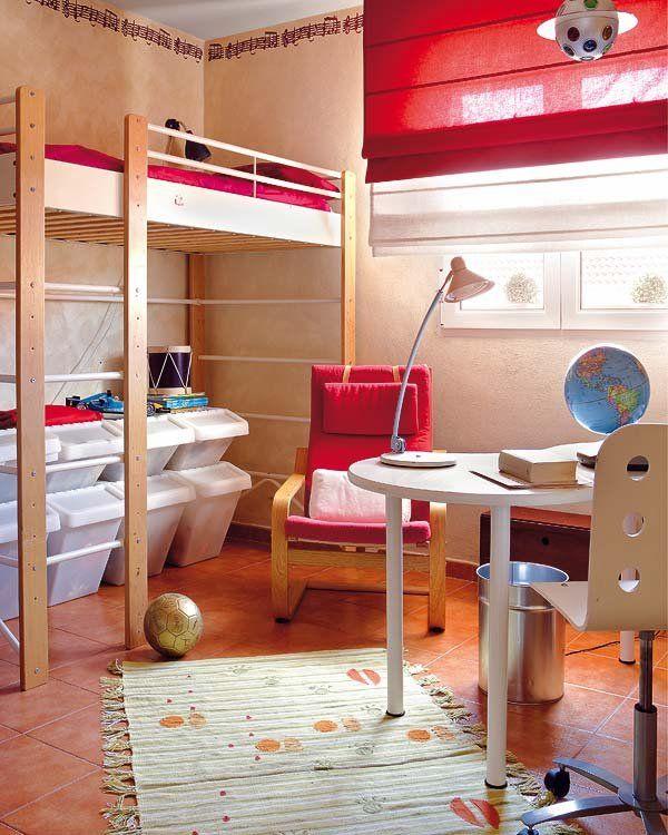 Las 25 mejores ideas sobre cama alta infantil en - Ideas para decorar habitacion infantil ...