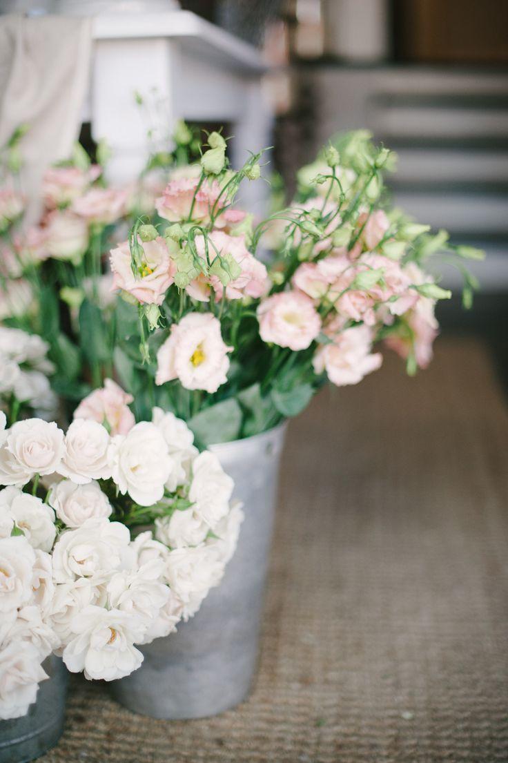 Pink & white | Photography: Heidi Lau - heidilau.ca  Read More: http://www.stylemepretty.com/living/2014/09/03/behind-the-scenes-sweet-woodruff/