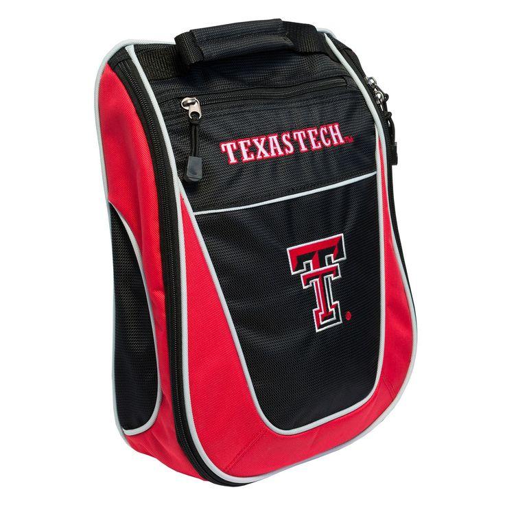 Team Golf Texas Tech Red Raiders Golf Shoe Bag, Multicolor
