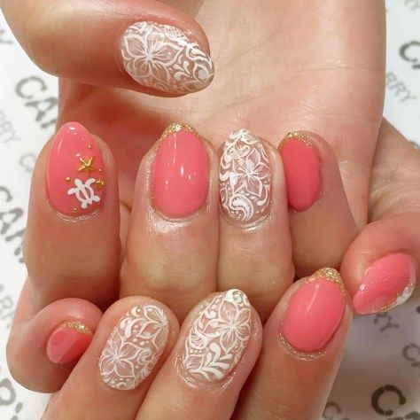 Best 20 Beautiful Hawaiian Nail Art - Best 25+ Hawaiian Nail Art Ideas On Pinterest Tropical Nail Art
