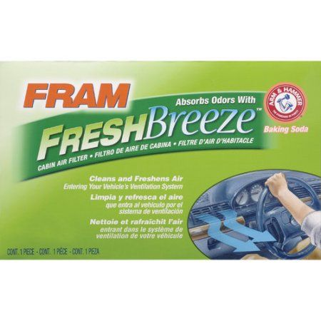 Fram Fresh Breeze Cabin Air Filter Cf8392a Multicolor