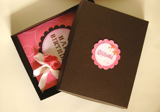 with gift box