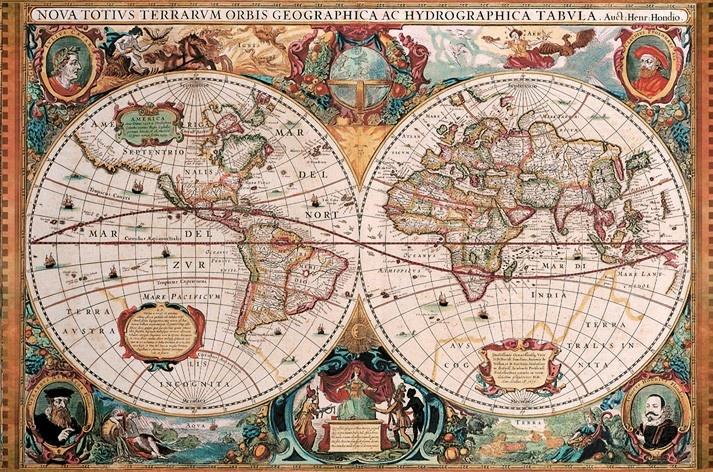 puzzle mappemonde antique puzzles cartes du monde map. Black Bedroom Furniture Sets. Home Design Ideas