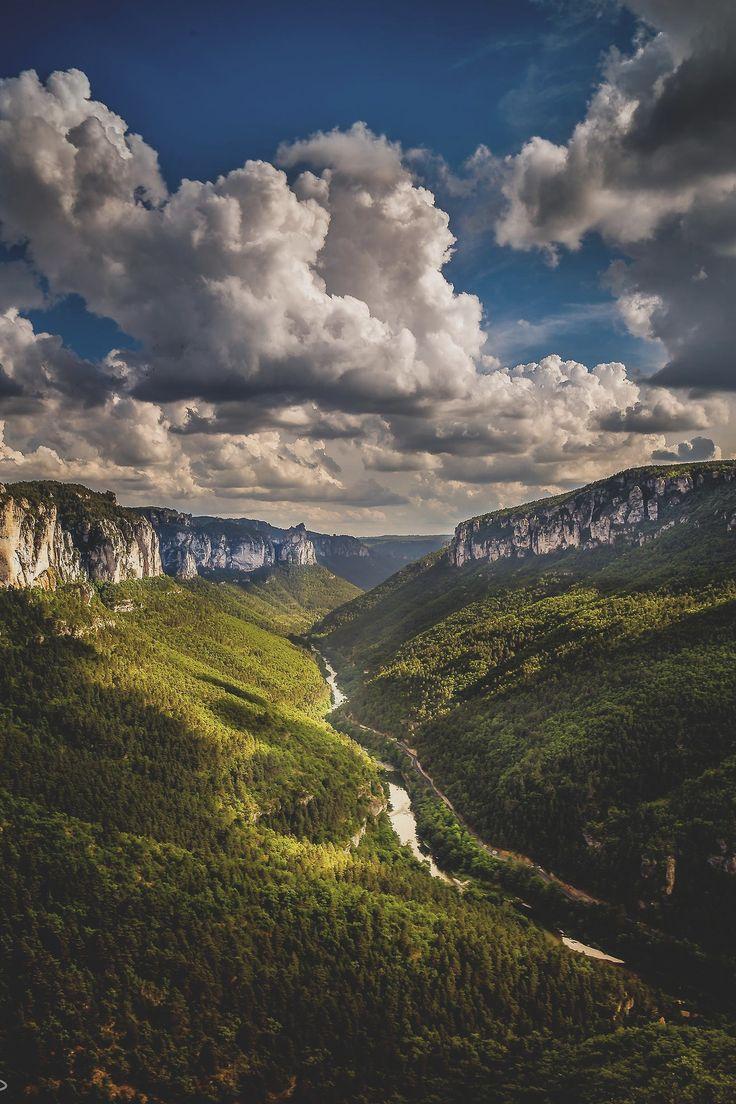 Gorges du Tarn, France Superbe région : riche d'histoire et de beaux paysages !