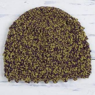 757b1bea055 Autumn Forest Hand-Crocheted Alpaca Blend Hat from Peru  hat  womens ...
