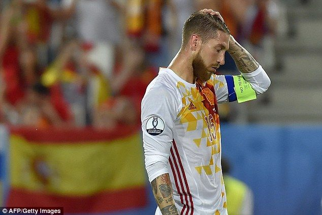 Ramos was not disheartened by the draw as you have to beat the best teams at a tournament to win