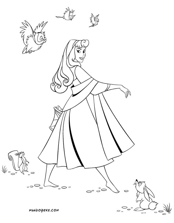 sleeping beauty coloring pages fairy tales magic true love and sw. Black Bedroom Furniture Sets. Home Design Ideas