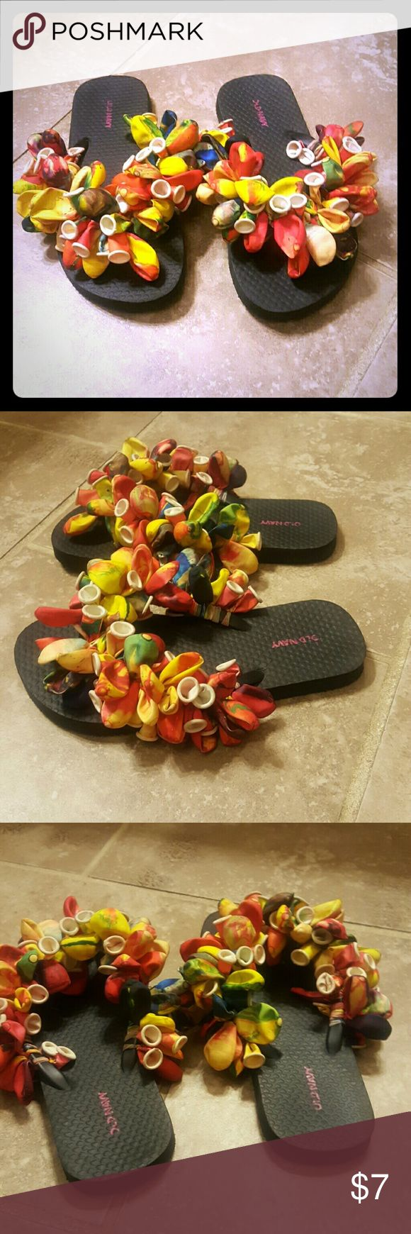 Flip flops Cutesy balloon design flip flops. Shoes Sandals